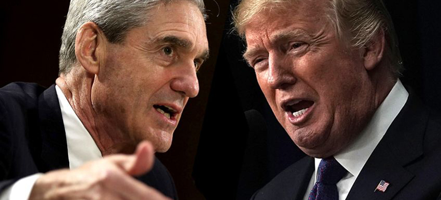 Mueller and Trump. (photo: Getty Images/Salon)