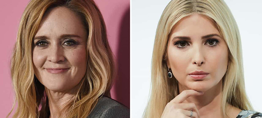 Samantha Bee (left); Ivanka Trump (right). (photo: AP)