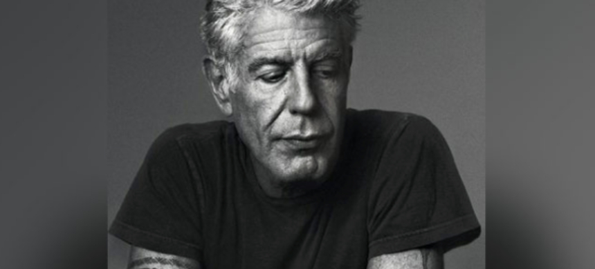 Celebrity chef Anthony Bourdain. (photo: Twitter)