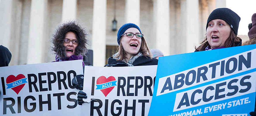 A rally for reproductive rights. (photo: ACLU)