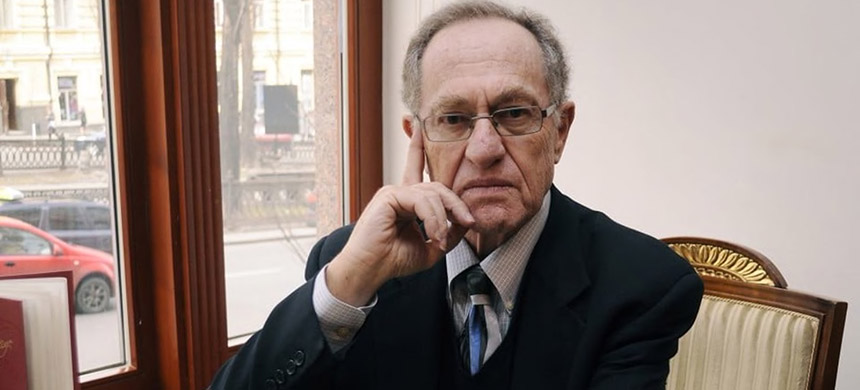 Alan Dershowitz at a hotel in Kiev, Ukraine, in 2011. (photo: Sergei Chuzavkov/AP)