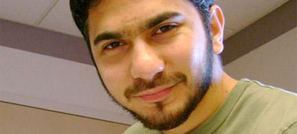 Accused 'Times Square Bomber' Faisal Shahzad, 05/04/10. (photo: Reuters)