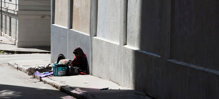 Homeless in San Francisco. (photo: Melanie Stetson Freeman/CS Monitor)