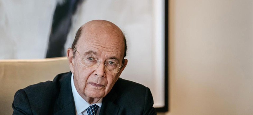 Secretary of Commerce Wilbur Ross. (photo: Anthony Kwan/Bloomberg)