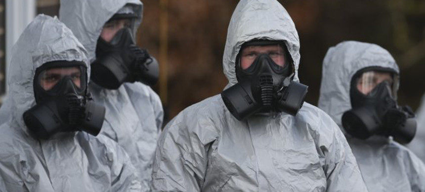 Britain and its Western allies have accused Russia of ordering the poisoning of former spy Sergei Skripal and his daughter with a deadly nerve agent known as Novichok. (photo: Daniel Leal-Olivas/APF)