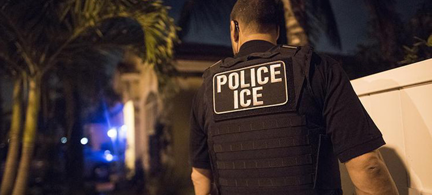 ICE agent. (photo: AP)