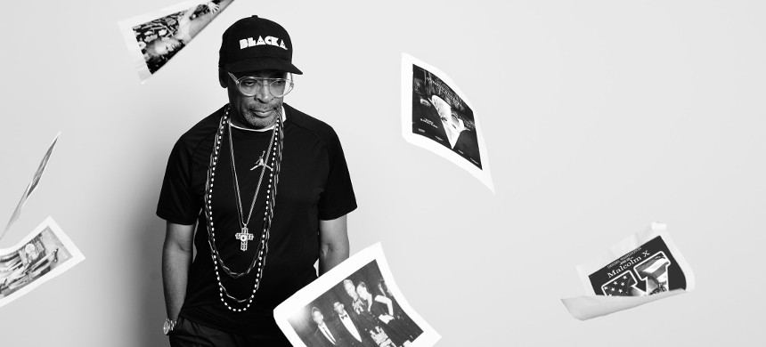 Director Spike Lee. (photo: Carrie Mae Weems/TIME)