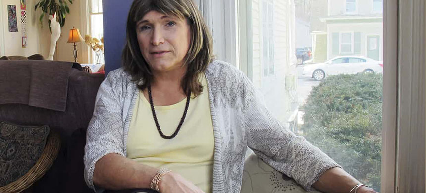 Christine Hallquist, 62, former CEO of Vermont Electric Cooperative, is one of four Democrats seeking the party's nomination for Vermont governor in the 14 August primary election. (photo: Wilson Ring/AP)
