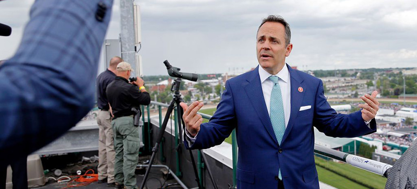 Governor Matt Bevin of Kentucky. (photo: Getty Images)