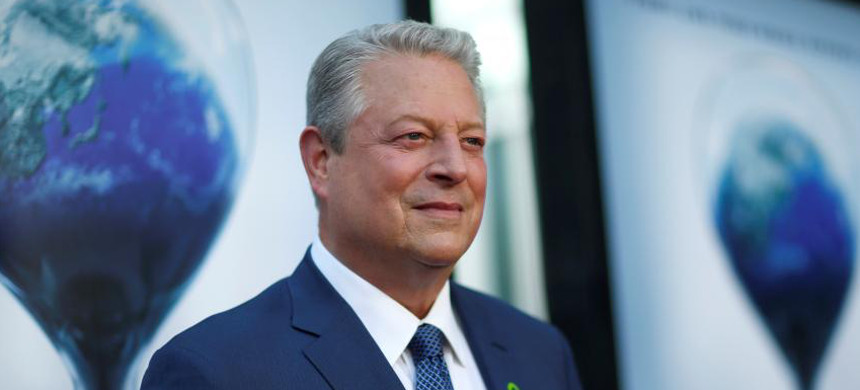 Former U.S. vice president Al Gore attends a screening for 'An Inconvenient Sequel: Truth to Power' in Los Angeles on July 25. (photo: Mario Anzuoni/Reuters)