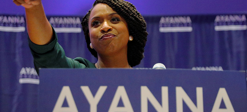 Ayanna Pressley. (photo: Brian Snyder/Reuters)