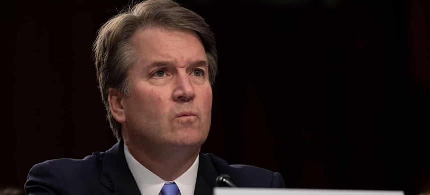 Brett Kavanaugh. (photo: REX/Shutterstock)