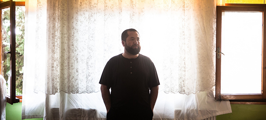 'That was a place that will breed vengeful feelings,' Abdusalam Muhemet said of the internment camp in Xinjiang, in western China, where he and other Muslims were held for months. (photo: Erin Trieb/NYT)