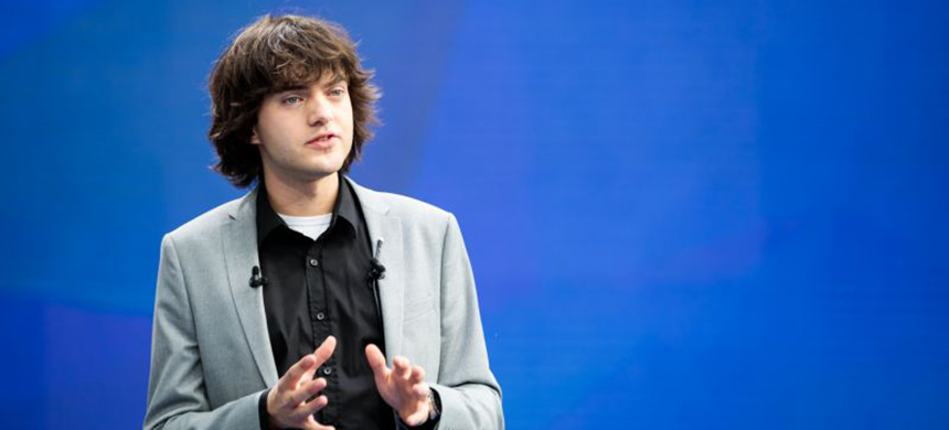 Boyan Slat, CEO of The Ocean Cleanup. (photo: Time)