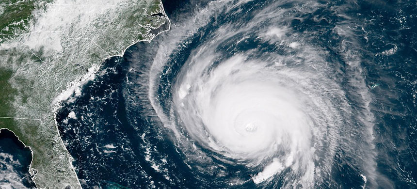 Hurricane Florence. (photo: NOAA/Getty Images)