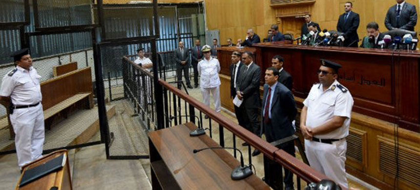 An Egyptian court. (photo: Getty Images)