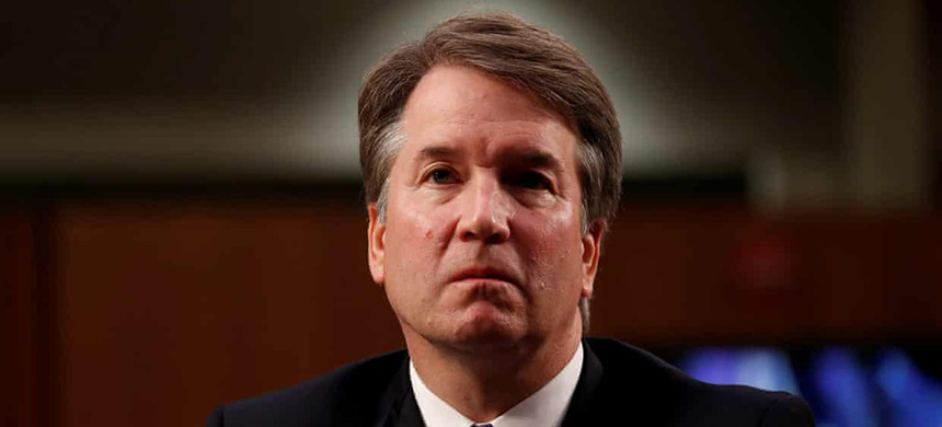 One source said that in at least one case, a law student was so put off by Chua's advice that she decided not to pursue a clerkship with Brett Kavanaugh. (photo: Joshua Roberts/Reuters)