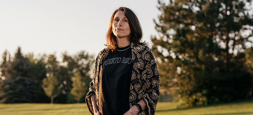 Deborah Ramirez. (photo: Benjamin Rasmussen/New Yorker)