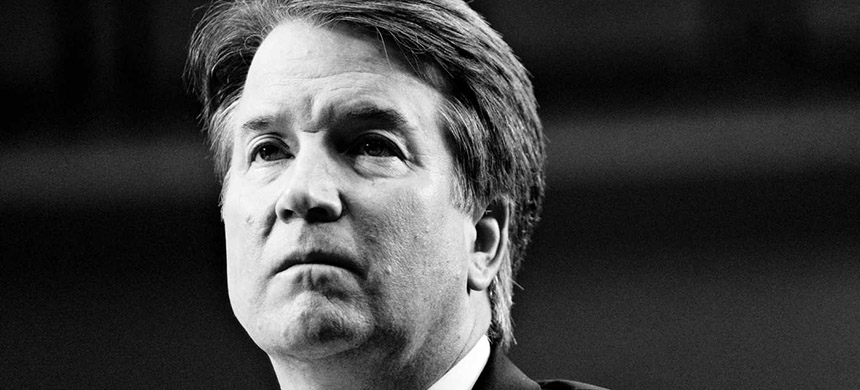 Brett Kavanaugh. (photo: Andrew Harrer/Bloomberg/Getty Images)
