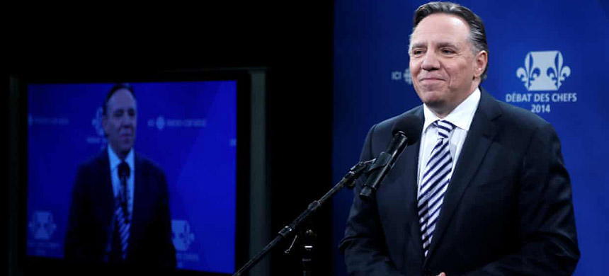 CAQ leader François Legault declared the idea of Quebec separatism 'dead' in 2016. (photo: Christinne Muschi/Reuters)
