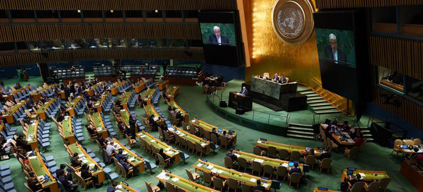 The 73rd session of the U.N. General Assembly takes place in New York on Friday. (photo: Don Emmert/Getty Images)