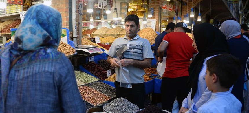 The unanimous ruling from the International Court of Justice orders the U.S. to allow Iran to import food, medical supplies and other products for humanitarian reasons. Here, people browse for goods in the Grand Bazaar in Tehran. (photo: Fatemeh Bahram/Getty)