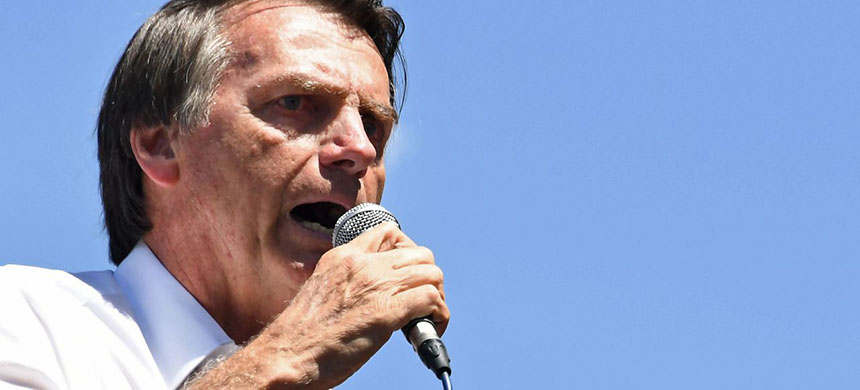 Jair Bolsonaro. (photo: Evaristo SA/Getty Images)