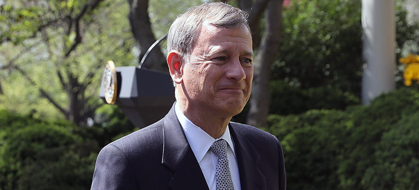 Chief Justice John Roberts. (photo: Getty)