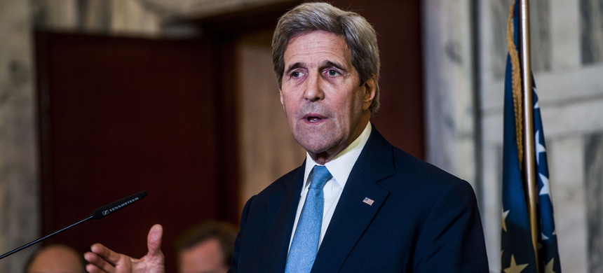 Former Secretary of State John Kerry. (photo: Getty)