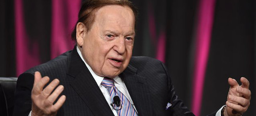 Casino magnate Sheldon Adelson. (photo: Getty)