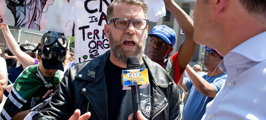 Proud Boys founder Gavin McInnes. (photo: Getty Images)