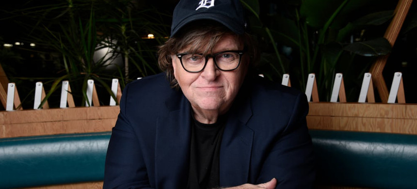 Filmmaker Michael Moore. (photo: Chris Pizzello/AP)