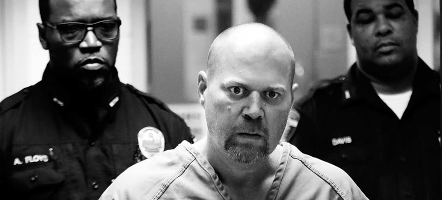 Gregory Bush is arraigned on two counts of murder and 10 counts of wanton endangerment Thursday, Oct. 25, 2018, in Louisville, Ky. Bush fatally shot two African-American customers at a Kroger grocery store Wednesday and was swiftly arrested as he tried to flee, authorities said Thursday. (photo: Scott Utterback/Courier Journal/AP)