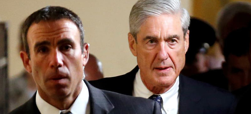 Special counsel Robert Mueller. (photo: Joshua Roberts/Reuters)