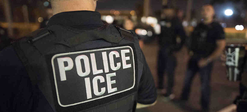ICE officers. (photo: ICE)