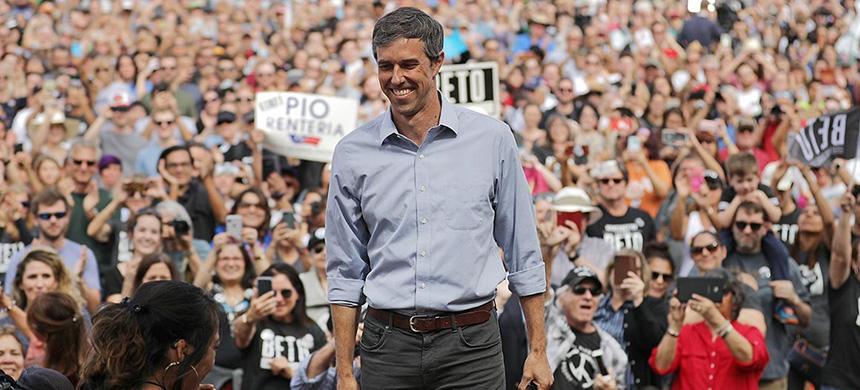 The ascent of Rep. Beto O'Rourke reflects the volatility of a 2020 presidential primary that has flummoxed Democratic donors and activists for months. (photo: Chip Somodevilla/Getty Images)
