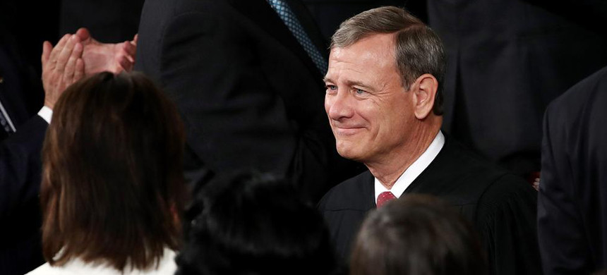 Supreme Court Chief Justice John Roberts. (photo: AP)