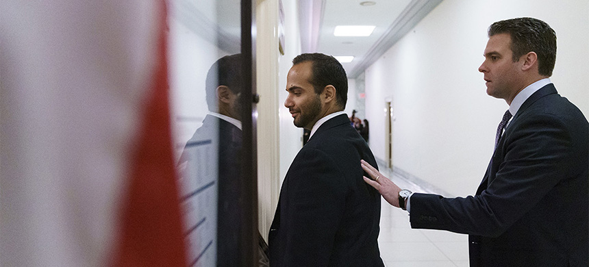 Former Trump campaign adviser George Papadopoulos tried to harness a pending appeal in a case where a grand jury witness is leveling a legal attack on the special counsel's power. (photo: Carolyn Kaster/AP)