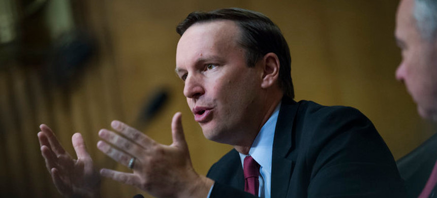 Sen. Chris Murphy, one of the chamber's most vocal critics of the Saudi government. (photo: Jacquelyn Martin/AP)