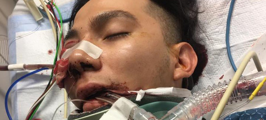 18-year-old Luis Gustavo Lopez was attacked at his father's tire shop in Salt Lake City, Utah. (photo: Veronica Lopez)
