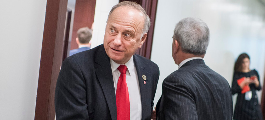 Rep. Steve King (photo: Tom Williams/Roll Call)