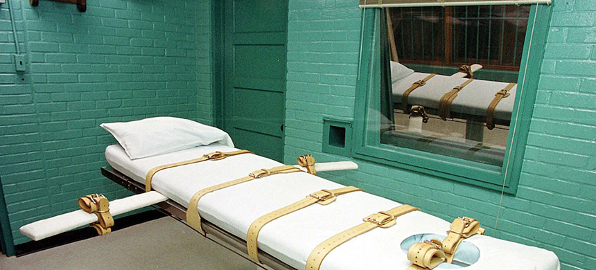 Texas's execution chamber in Huntsville. (photo: TribTalk)