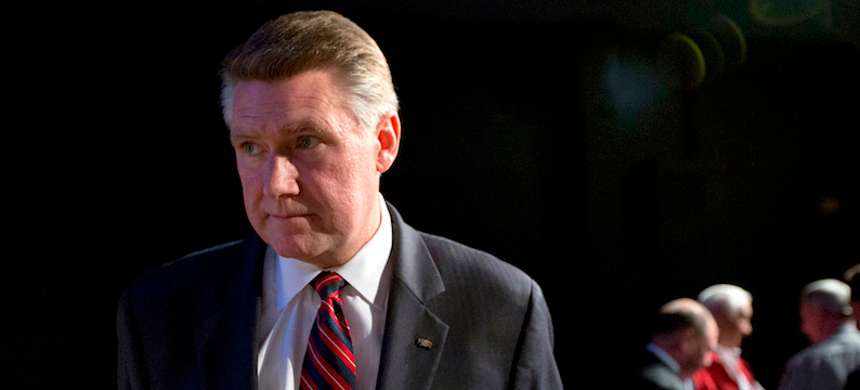 Republican Mark Harris' campaign is accused of committing fraud. (photo: Getty)