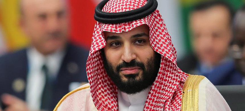 The resolution urges the U.S. government to hold the crown prince accountable for a number of actions. (photo: Sergio Moraes/Reuters)