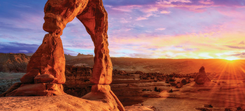 Arches National Park. (photo: National Geographic)