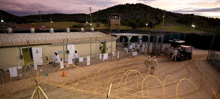 A detention facility at Guantanamo Bay. (photo: AP)