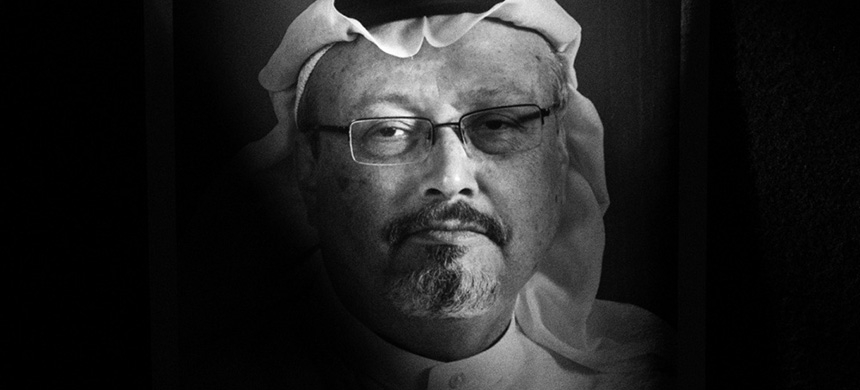 Khashoggi was a leading journalist in Saudi Arabia for decades before fleeing to the U.S. in 2017. In columns for the Washington Post, he criticized Crown Prince Mohammed bin Salman's quest for total power and suppression of free speech. (photo: TIME/Alamy)