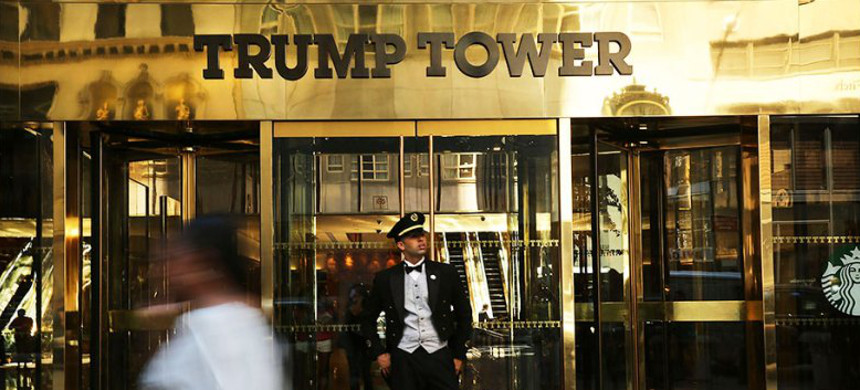 Trump Tower in New York City. (photo: Spencer Platt/Getty)