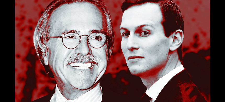David Pecker, the National Enquirer and Jared Kushner. (photo: Sarah Rogers/The Daily Beast)