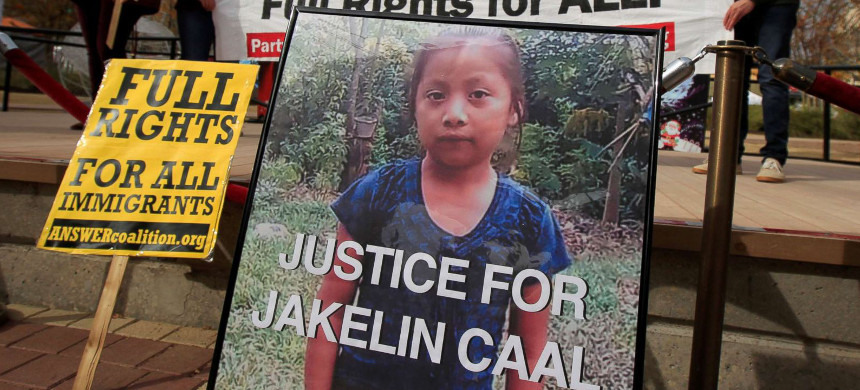Seven year-old Jakelin Caal Maquin from Guatemala was killed in custody of US Customs and Border Protection. (photo: ABC News)